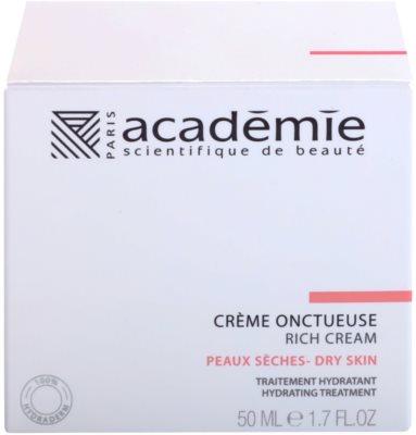 Academie Dry Skin crema enriquecida con efecto humectante 2