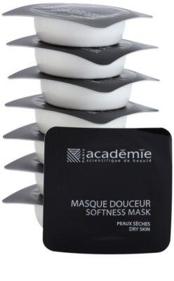 Academie Dry Skin подхранваща и успокояваща маска за лице