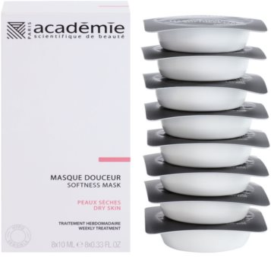 Academie Dry Skin výživná a zklidňující pleťová maska 1