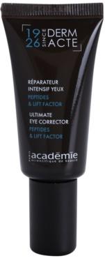 Academie Derm Acte Severe Dehydratation crema de contorno de ojos con efecto lifting