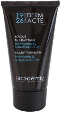 Academie Derm Acte Severe Dehydratation Vitamin-Gesichtsmaske