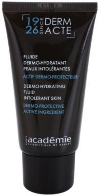 Academie Derm Acte Intolerant Skin зволожуючий флюїд відновлюючий бар'єр шкіри