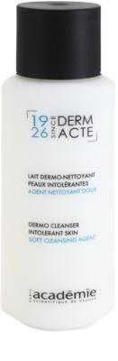 Academie Derm Acte Intolerant Skin könnyű állagú tisztítótej az arcra és a szemekre