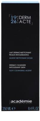 Academie Derm Acte Intolerant Skin sanfte Reinigungsmilch für Gesicht und Augen 2
