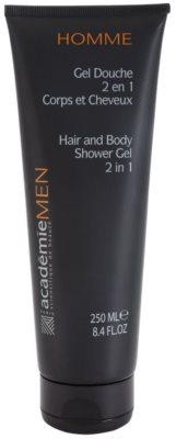 Academie Men żel pod prysznic do ciała i włosów 2w1