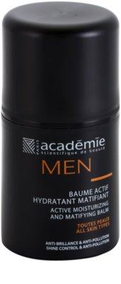 Academie Men aktivni vlažilni balzam z mat učinkom