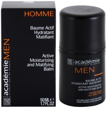 Academie Men aktivni vlažilni balzam z mat učinkom 2