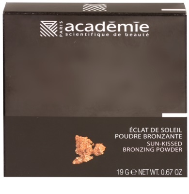 Academie Make-up Sun Kissed élénkítő bronzosító púder 2