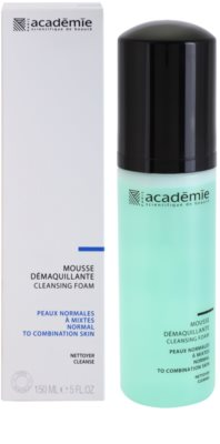 Academie Normal to Combination Skin mousse de limpeza com efeito hidratante 1
