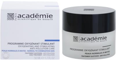 Academie Normal to Combination Skin vlažilna in krepilna krema za obraz 1
