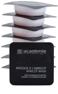Academie Normal to Combination Skin máscara de damasco refrescante