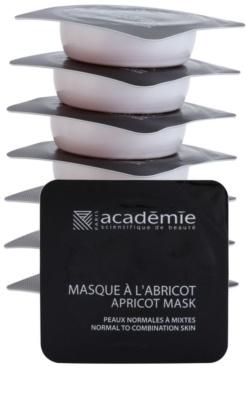 Academie Normal to Combination Skin orzeźwiająca maseczka morelowa