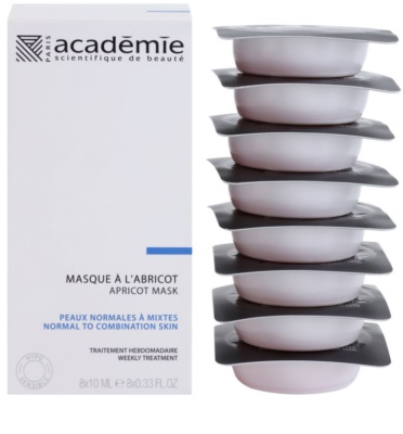 Academie Normal to Combination Skin máscara de damasco refrescante 1