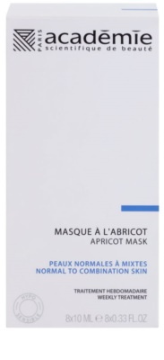 Academie Normal to Combination Skin erfrischende Maske mit Aprikose 2