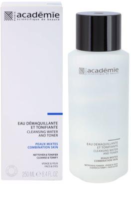 Academie Normal to Combination Skin tónico limpiador para rostro y ojos 1