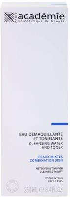 Academie Normal to Combination Skin tónico limpiador para rostro y ojos 2