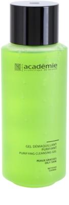 Academie Oily Skin gel de limpeza e desmaquilhante