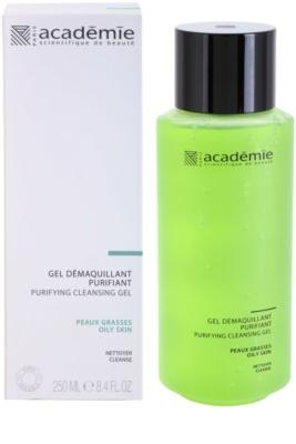Academie Oily Skin odličovací čisticí gel 1