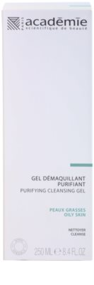 Academie Oily Skin odličovací čisticí gel 2