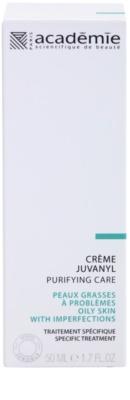 Academie Oily Skin matirajoča dnevna in nočna krema za normalizacijo kože 2