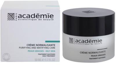 Academie Oily Skin krem normalizująco-matujący 1