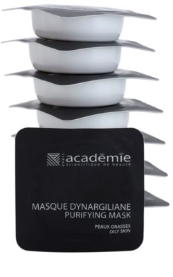 Academie Oily Skin почистваща маска  за разширени пори