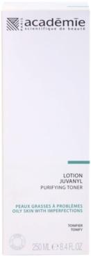 Academie Oily Skin tonic pentru curatare pentru pielea cu imperfectiuni 2