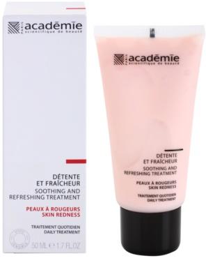 Academie Skin Redness crema calmante y refrescante para pieles irritadas y sensibles 1