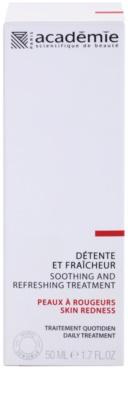 Academie Skin Redness crema calmante y refrescante para pieles irritadas y sensibles 2