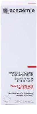 Academie Skin Redness zklidňující maska pro zarudlou a podrážděnou pleť 2