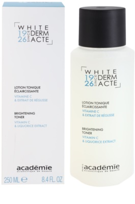Academie Derm Acte Whitening rozjasňující tonikum 1