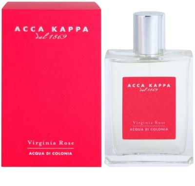 Acca Kappa Virginia Rose Eau de Cologne para mulheres