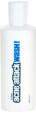 Acne Attack Wash! gel de curatare impotriva acneei