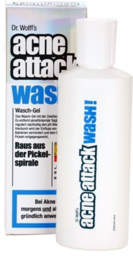 Acne Attack Wash! gel de limpeza antiacne 1