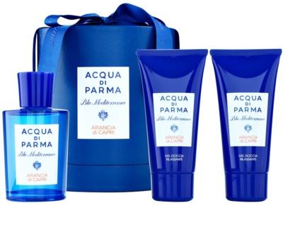 Acqua di Parma Blu Mediterraneo Arancia di Capri darilni set
