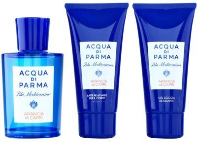 Acqua di Parma Blu Mediterraneo Arancia di Capri darilni set 1