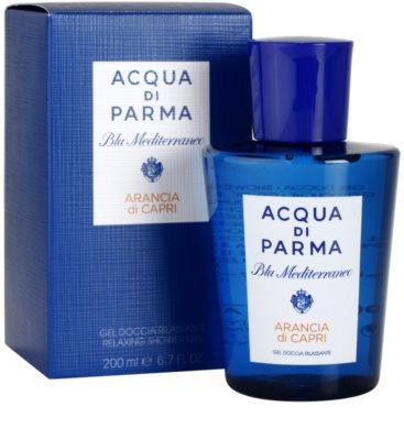 Acqua di Parma Blu Mediterraneo Arancia di Capri Shower Gel unisex 1