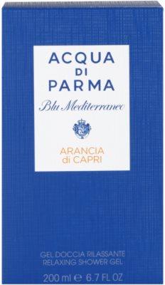Acqua di Parma Blu Mediterraneo Arancia di Capri Shower Gel unisex 3