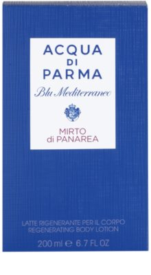 Acqua di Parma Blu Mediterraneo Mirto di Panarea Körperlotion unisex 3
