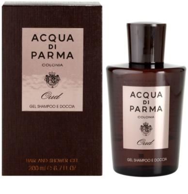 Acqua di Parma Colonia Oud gel de dus pentru barbati