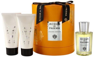 Acqua di Parma Colonia Assoluta coffret presente