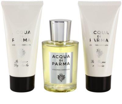 Acqua di Parma Colonia Assoluta coffret presente 2