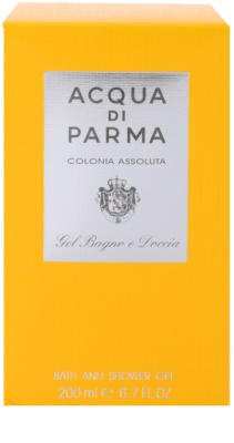 Acqua di Parma Colonia Assoluta żel pod prysznic unisex 3