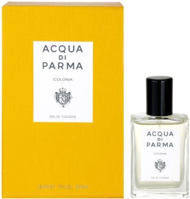 Acqua di Parma Colonia kolínská voda unisex  + kožené pouzdro