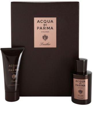 Acqua di Parma Colonia Leather dárková sada