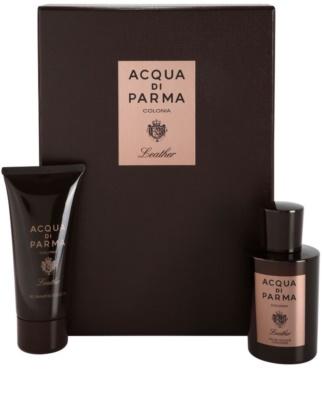 Acqua di Parma Colonia Leather lote de regalo