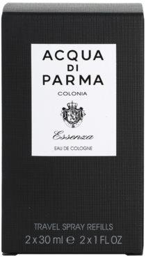 Acqua di Parma Colonia Essenza kolínská voda pro muže  (2x náplň s rozprašovačem) 5