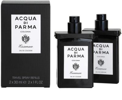 Acqua di Parma Colonia Essenza kolínská voda pro muže  (2x náplň s rozprašovačem) 1