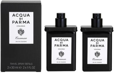 Acqua di Parma Colonia Essenza Eau de Cologne für Herren  2x Nachfüllung mit Zersträuber