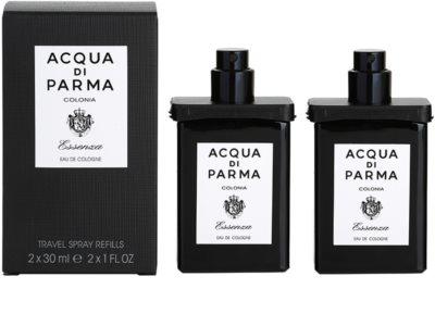Acqua di Parma Colonia Essenza kolínská voda pro muže  (2x náplň s rozprašovačem)